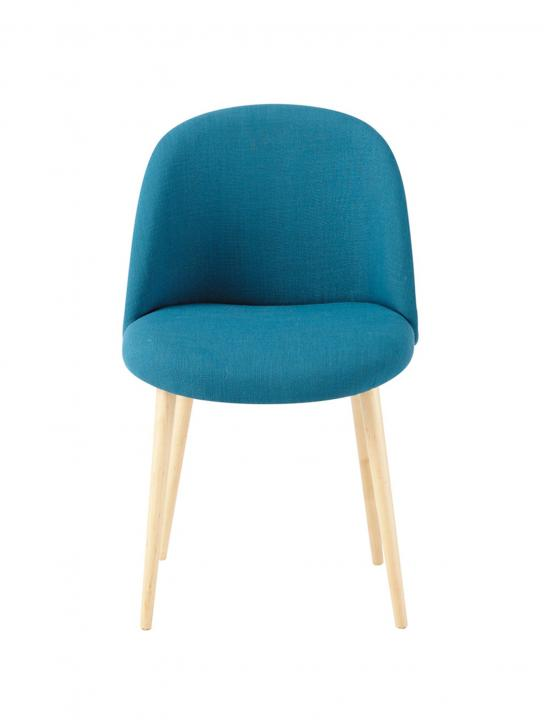 Fabric And Solid Birch Chair - Celebrity Big Brother 2017