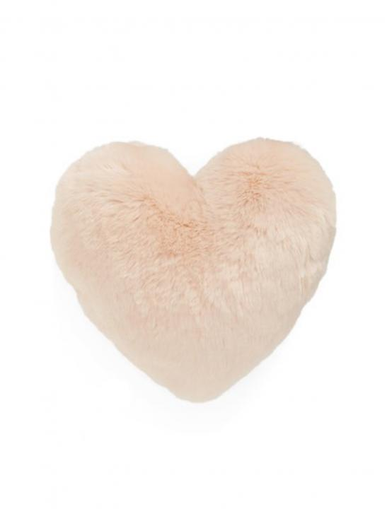 Cuddle Up' Faux Fur Heart Pillow - Celebrity Big Brother 2017