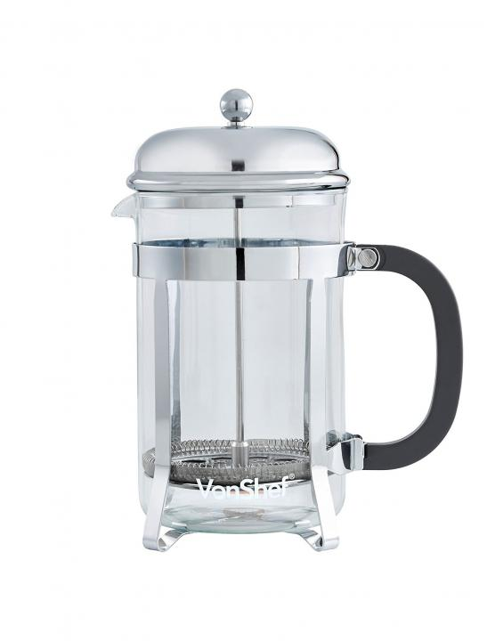 French Press Glass Cafetiere - Celebrity Big Brother 2017