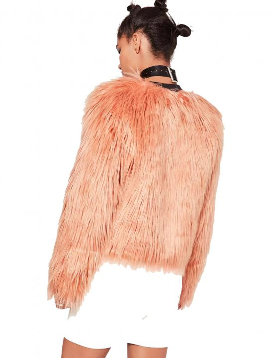Shaggy Faux Fur Coat - Ruby Francis - Fall Asleep