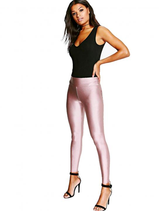 High Waist Disco Leggings - Lady Leshurr