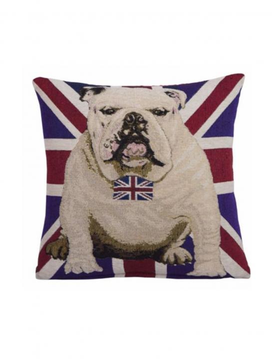 UK Flag Bulldog Cushion - Big Brother 2017