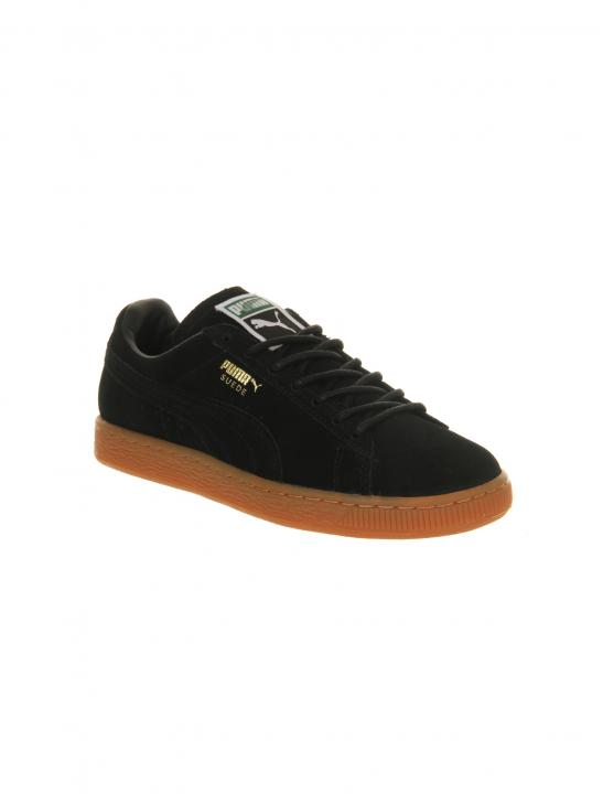 Black Suede Classic Trainers - Jodie Abacus