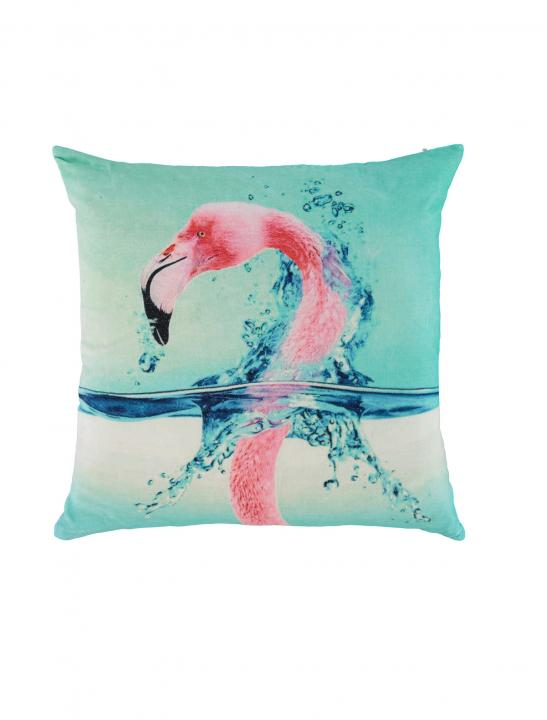 Green Flamingo Cushion - Big Brother 2017