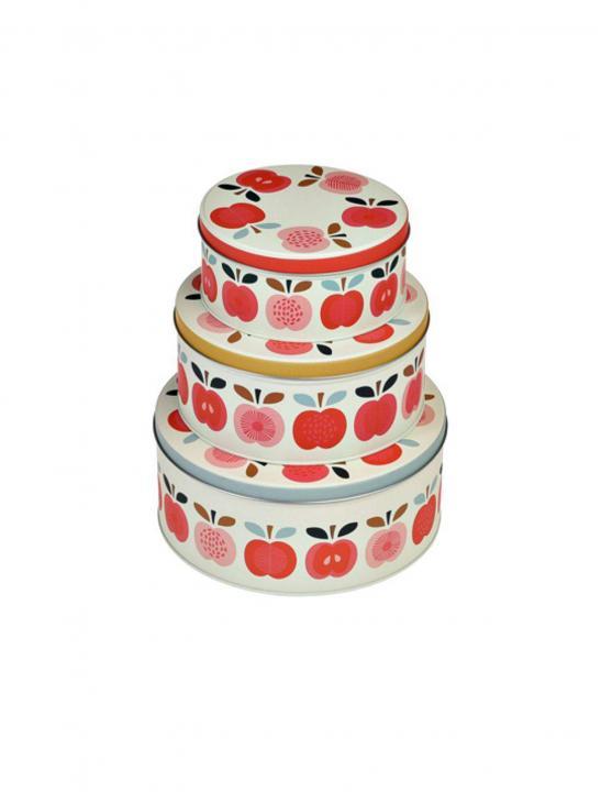 Vintage Apple Cake Tins - Big Brother 2017