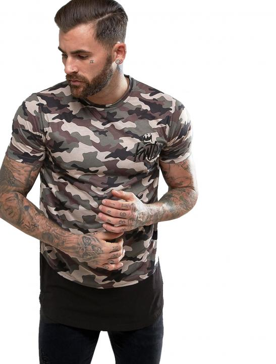 Dream T-Shirt In Camo - Jodie Abacus