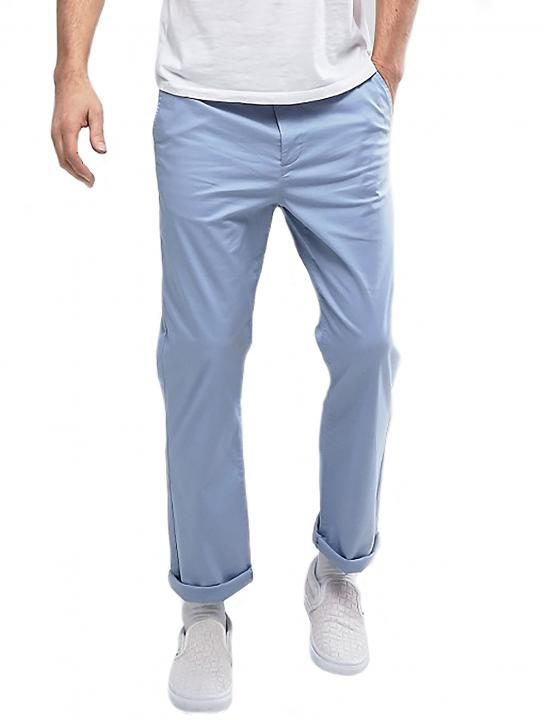 Straight Chinos In Pale Blue - Big Brother 2017