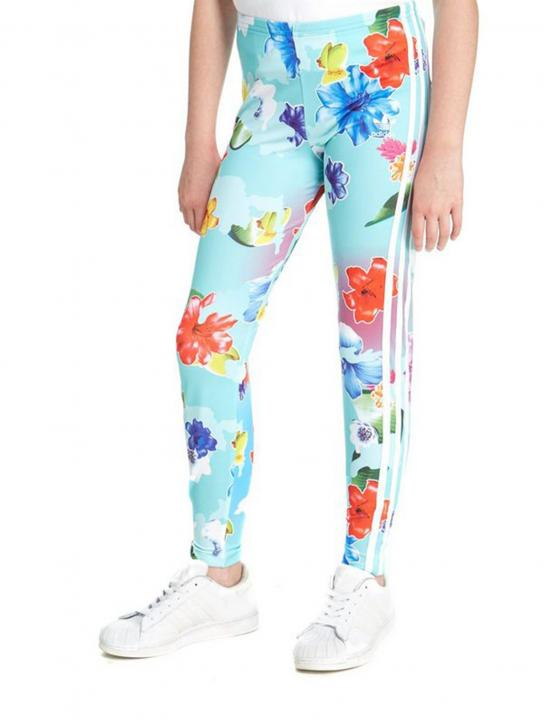 Floral Print Leggings - Lady Leshurr