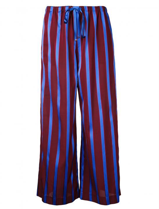 Striped Wide Leg Trousers - MØ