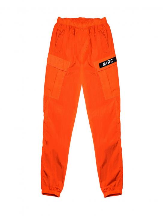 Orange Cargo Pants - Ella Eyre