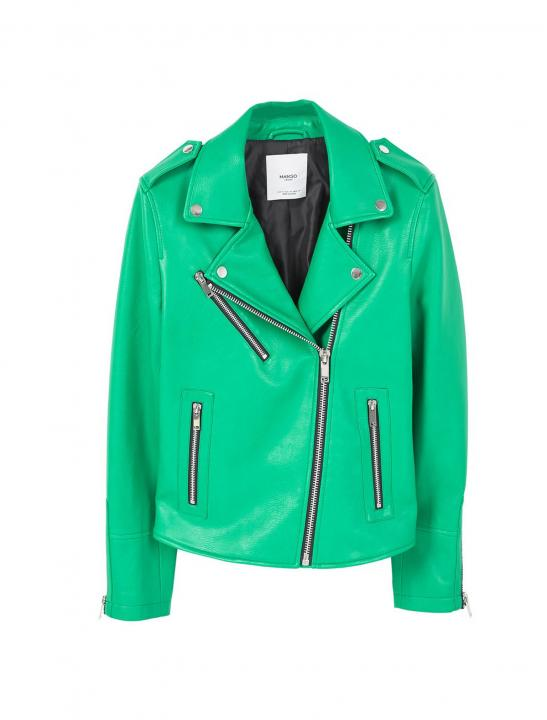 Leather Biker Jacket - Zara Larsson