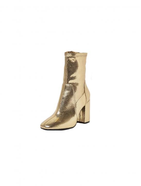 Gold Sock Boot - Zara Larsson