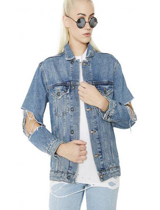 Steel Denim Jacket - Zara Larsson