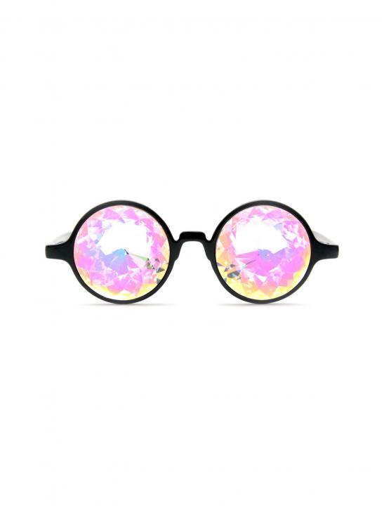 Black Kaleidoscope Glasses - Zara Larsson