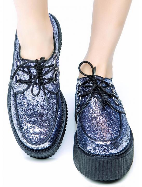 Glitter Round Creepers - Zara Larsson