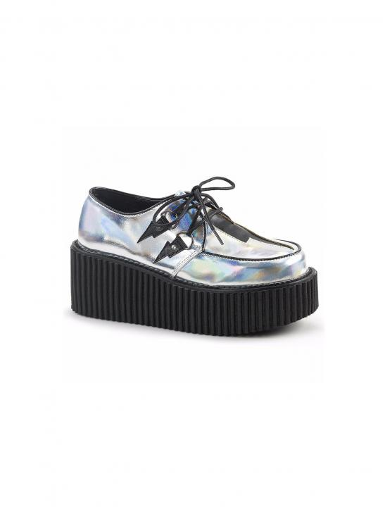 Holographic Creepers Shoes Demonia