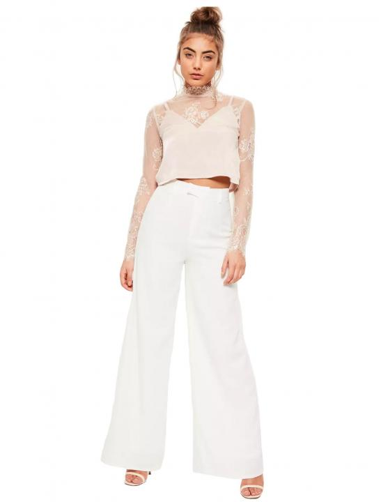 Wide Leg Trousers - Zara Larsson