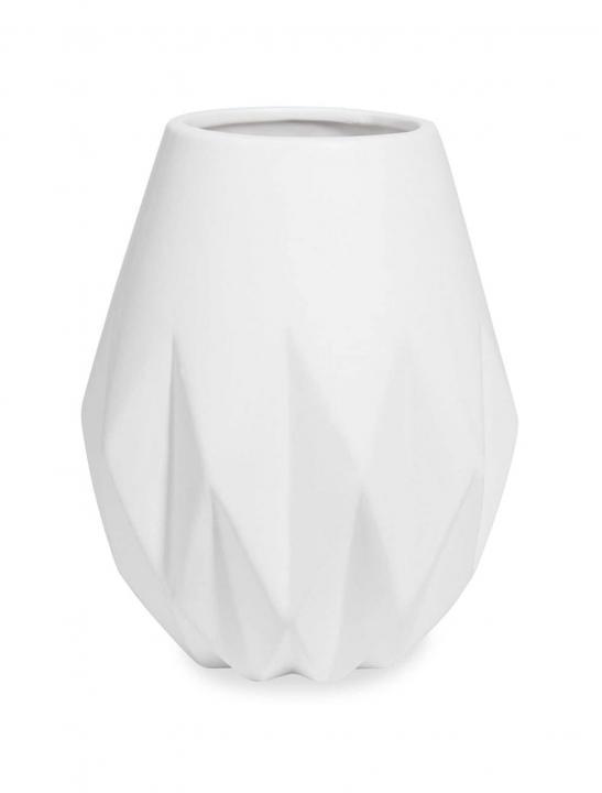 White Dolomite Vase - Celebrity Big Brother Summer