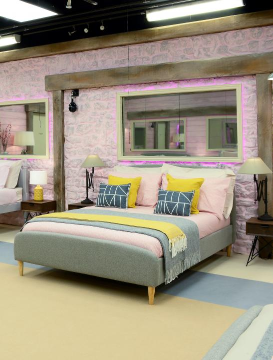 Quebec Double Bed - Celebrity Big Brother Summer