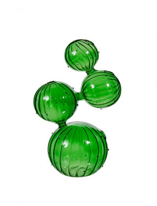 Cactus Glass Vase - Celebrity Big Brother Summer