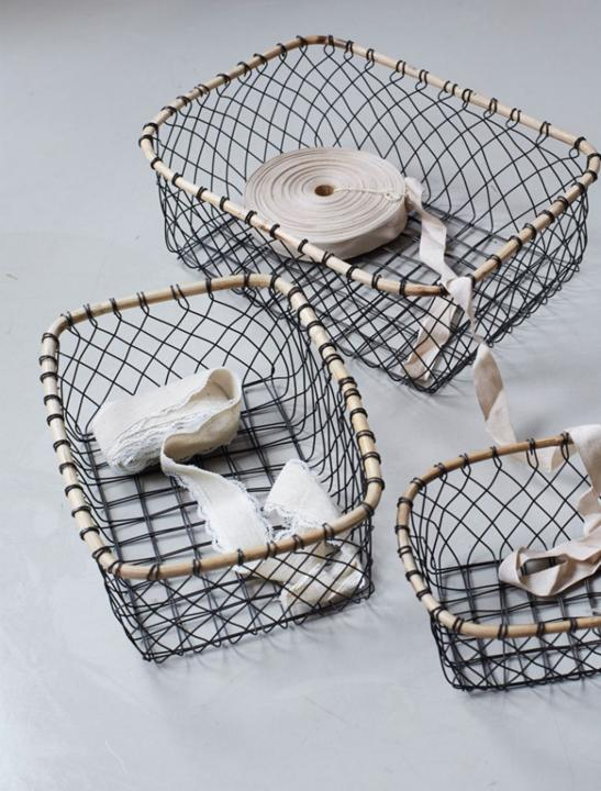 Wire Baskets Set - Celebrity Big Brother Summer