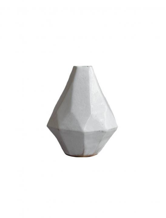Geometric Stoneware Vase - Celebrity Big Brother Summer
