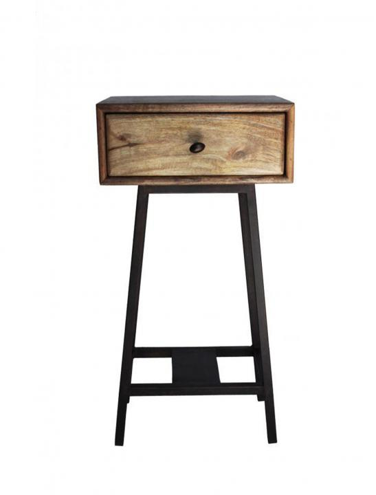 Wooden Side Table - Celebrity Big Brother Summer