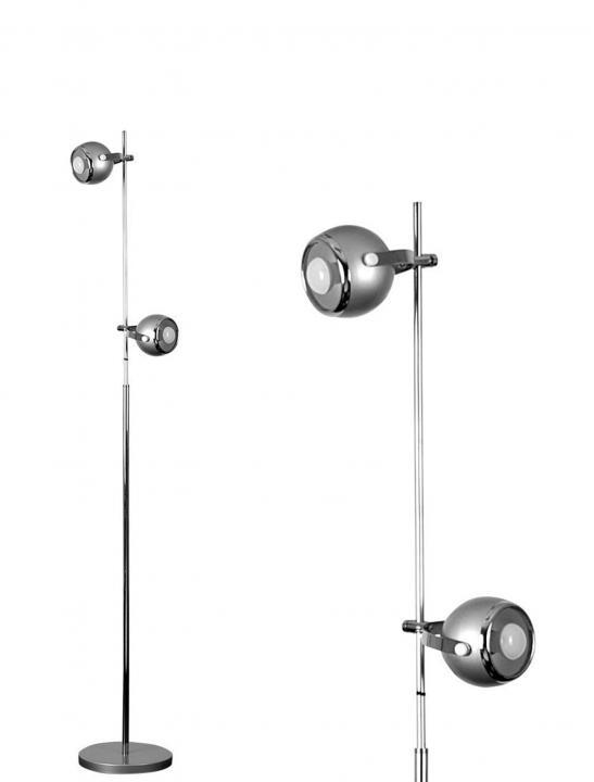 Eyeball Design Floor Lamp - Celebrity Big Brother Summer