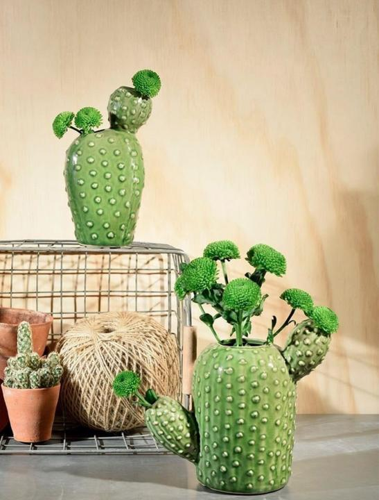 Cactus Shaped Vase - Celebrity Big Brother Summer