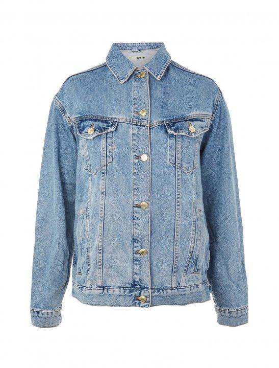 Denim Chain Jacket - Zara Larsson