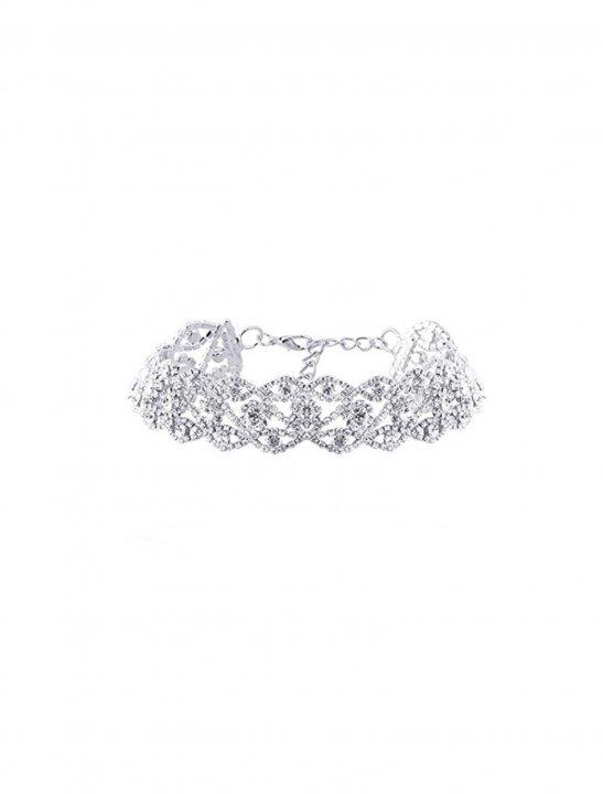 Crystal Necklace Choker - Fifth Harmony