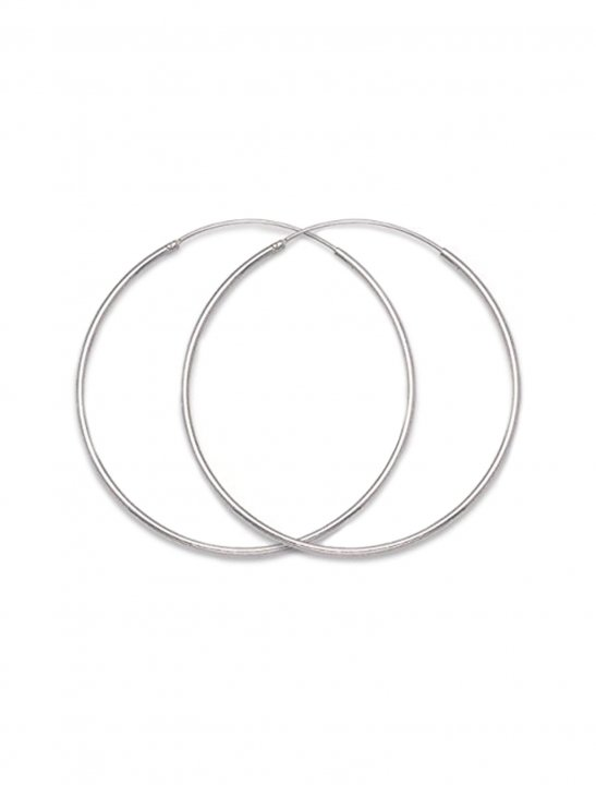 Silver Hoop Earrings - Fifth Harmony