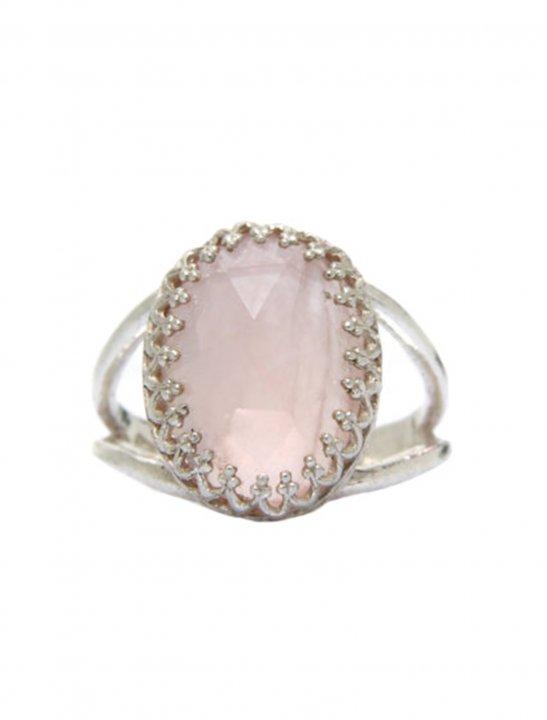 Rose Quartz Ring - Ella Eyre