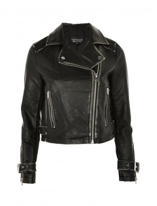 Biker Jacket Clothing Topshop