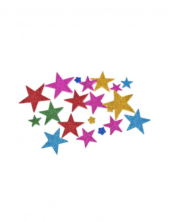 Glitter Stars Stickers - Ella Eyre