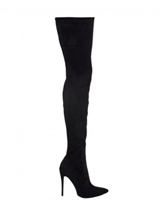 High Heeled Boots Shoes Prettylittlethings