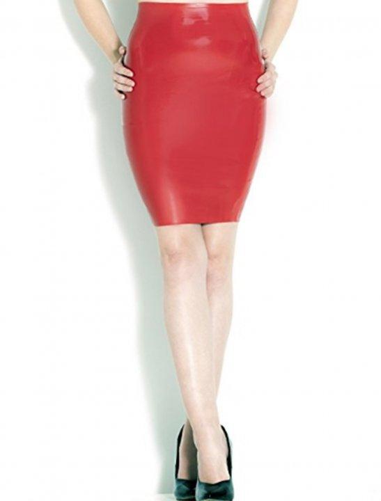Pencil Skirt in Latex - Shakira