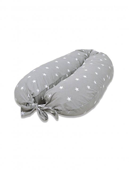 Grey Maternity Pillow - The Georgia Edit