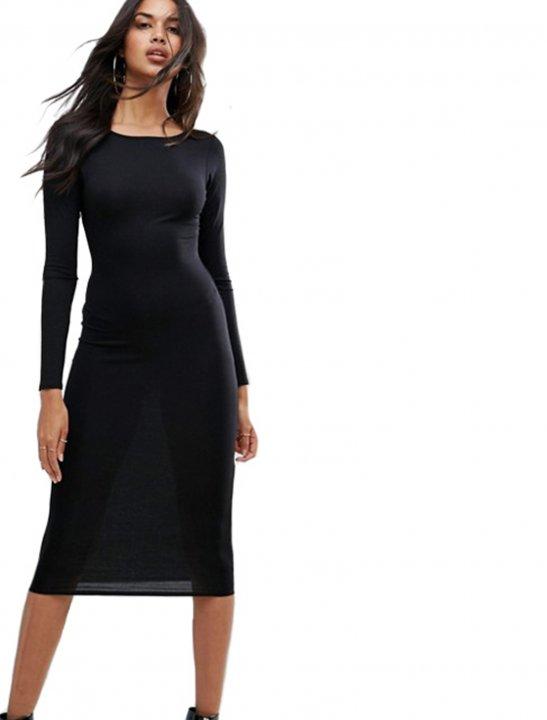 Long Sleeve Midi Dress - Kygo