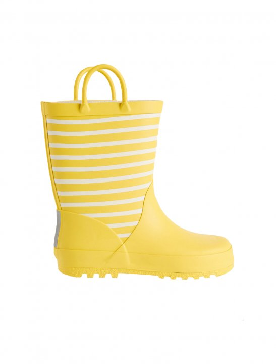 Striped Welly Boots - Kygo