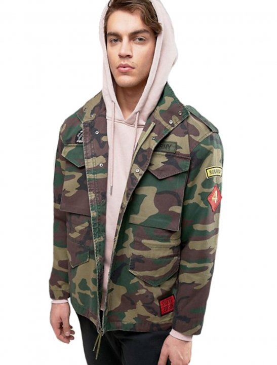 Camo Military Jacket - Chris & Kem
