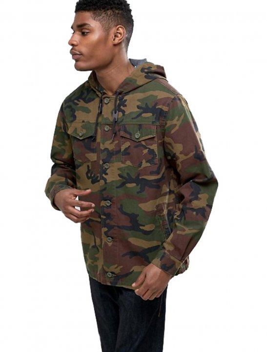 Camo Hooded Jacket - Chris & Kem