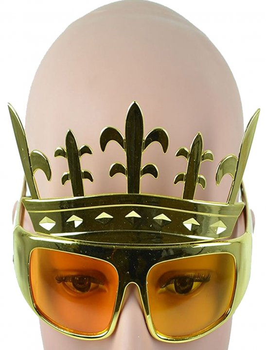 Crown Clear Glasses - Lady Leshurr