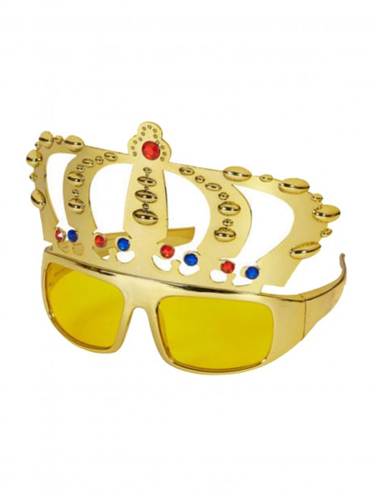 Gold Crown Sunglasses - Lady Leshurr