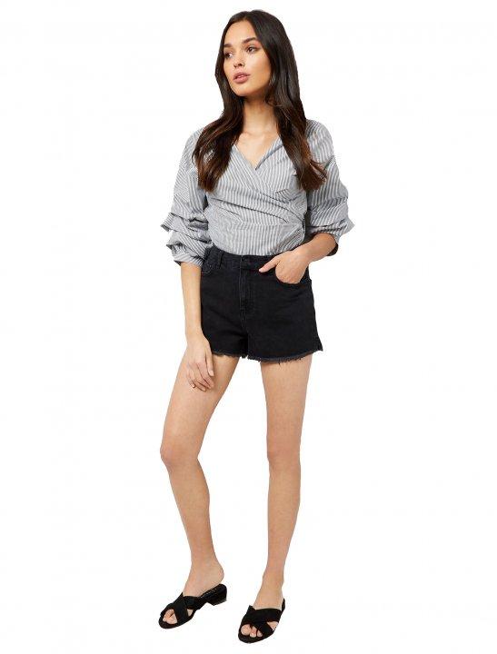 Denim Mom Shorts - Lady Leshurr