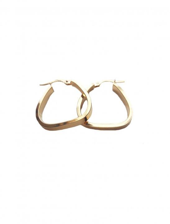 Triangular Hoop Earrings - Lady Leshurr