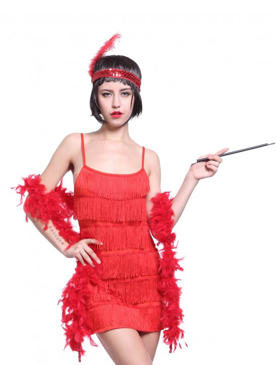 Charleston Fringe Dress - Camila Cabello