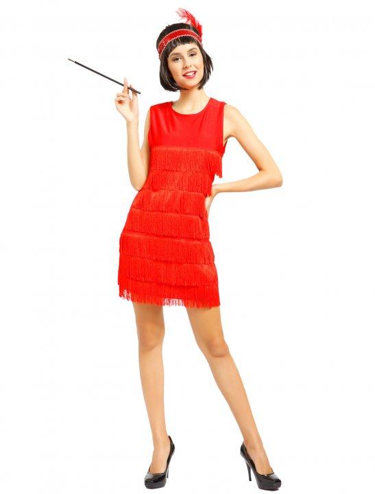 Charleston Fringe Dress Clothing Maboobie