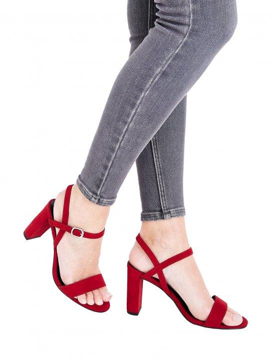 Strap Side Heels - Camila Cabello
