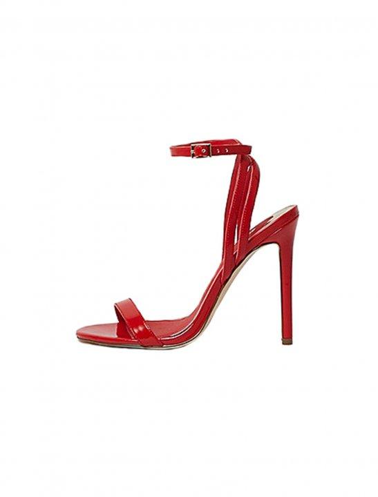 Red Patent Sandals - Camila Cabello